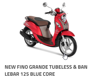 Harga Kredit Motor Fino 2019