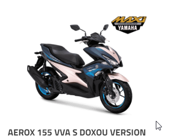 YAMAHA AEROX 155 VVA S DOXOU BANDUNG CIMAHI