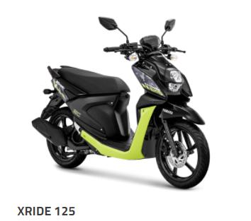 yamaha x ride 125 bandung cimahi